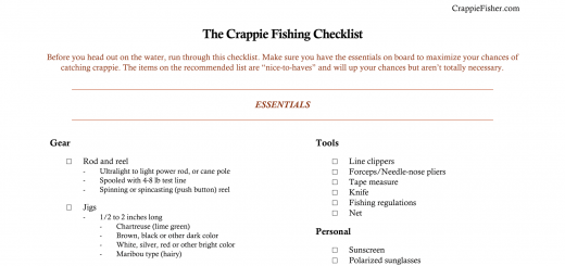 crappie fishing - the complete guide | crappie fisher, Reel Combo