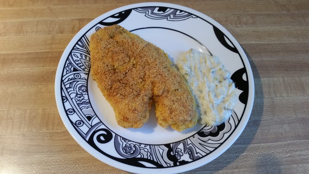 pan fried crappie