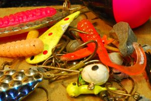 Pile of Crappie Jigs
