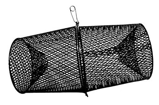 Frabill Minnow Trap Heavy-Duty Vinyl Dipped Steel Mesh Construction