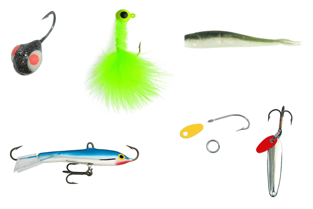 ice fishing lures