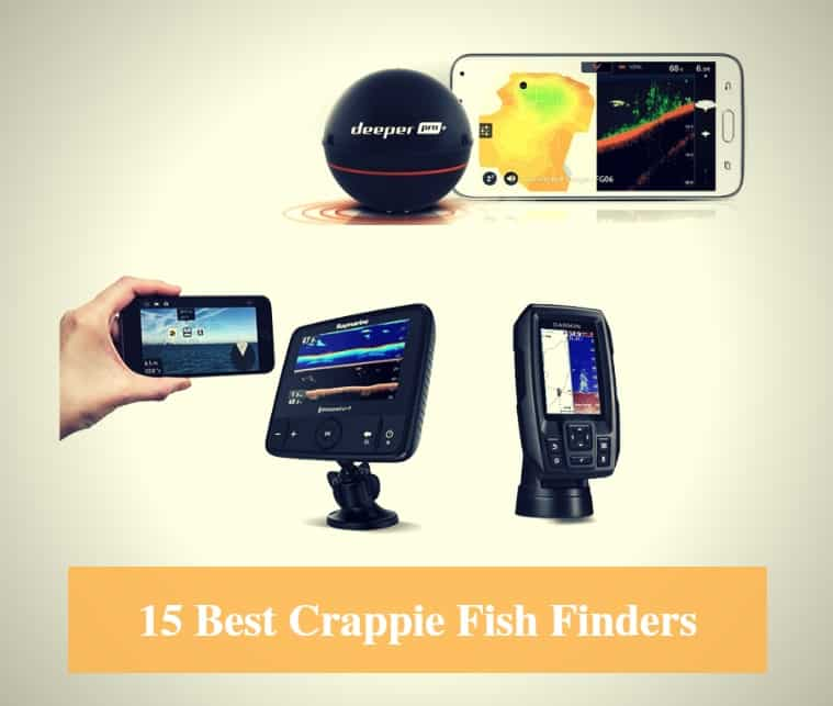 Best Crappie Fish Finder, Best Fish Finder for Crappie & Best Crappie Fish Finder Brands